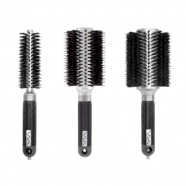 VIA Round Boar Brushes